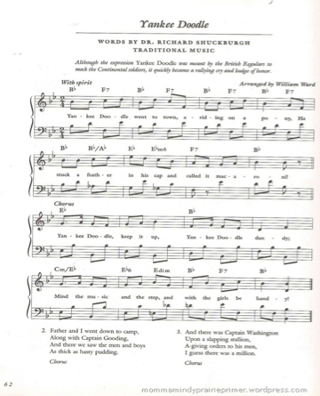 Song to remember the 13 colonies to the tune of Yankee ...